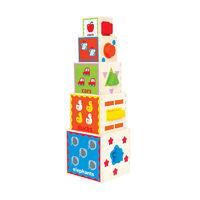 Hape: Pyramid of Play (Wooden)