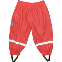Silly Billyz Waterproof Pants - Red (3-4 Yrs)