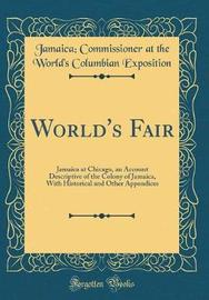 World's Fair by Jamaica Commissioner at the Exposition image