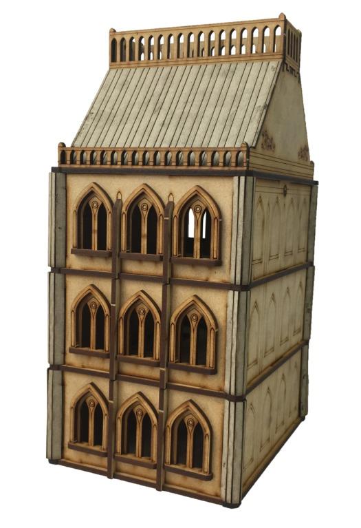 TTCombat: Tabletop Scenics – Gothic Brownstone