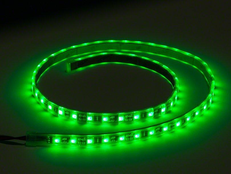 Green - LED magnetic strip 40cm image