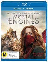 Mortal Engines on Blu-ray image