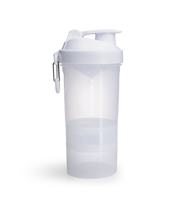 Smartshake Original 2Go Protein Shaker - White (600ml)