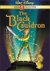 The Black Cauldron on DVD