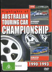 Highlights Of The Australian Touring Car Championship 1990-1993 on DVD