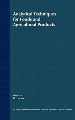 Analytical Techniques for Foods and Agricultural Products image