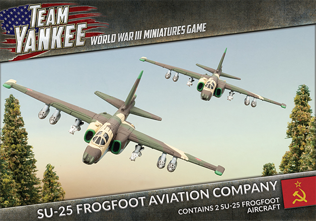 Flames of War: Su-25 Frogfoot Aviation Company