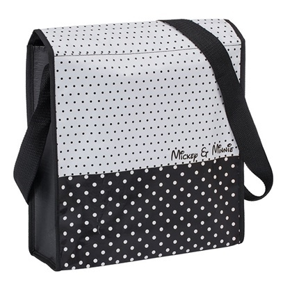 Disney: Mickey & Minnie Recycled Messenger Tote image