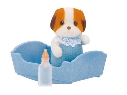 Sylvanian Families: Chiffon Dog Baby - Blue