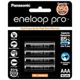 Panasonic Eneloop PRO AAA 950mAh Rechargeable Batteries - 4 Pack