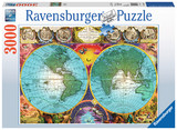 Ravensburger: Antique Map - 3000pc Puzzle