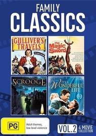 Family Classics - Volume 2 (3 Disc Set) on DVD
