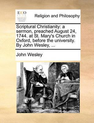 Scriptural Christianity by John Wesley image