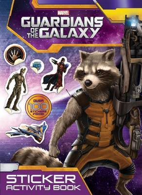 Marvel Guardians of the Galaxy Sticker Activity Book image