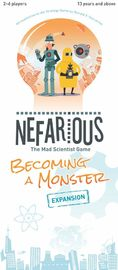 Nefarious: Becoming A Monster - Game Expansion