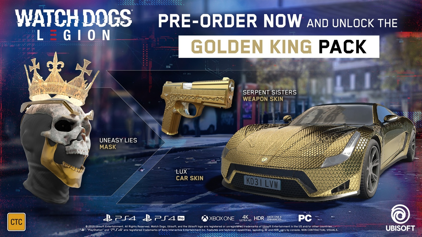 Watch Dogs Legion Limited Edition for PS4 image
