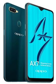 OPPO AX7 Smartphone Glaze Blue image