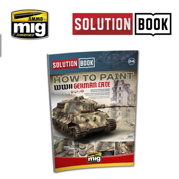 Ammo of Mig Jimenez Late German Armour Solution Book