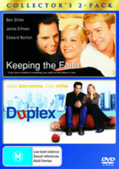 Keeping The Faith / Duplex - Double Pack (2 Disc Set) on DVD