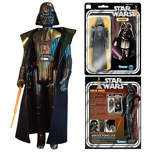 Star Wars Jumbo Vintage Kenner Darth Vader Action Figure image
