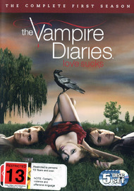 The Vampire Diaries - The Complete 1st Season (5 Disc Set) on DVD