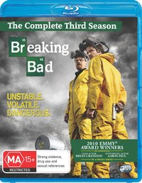 Breaking Bad - The Complete Third Season on Blu-ray
