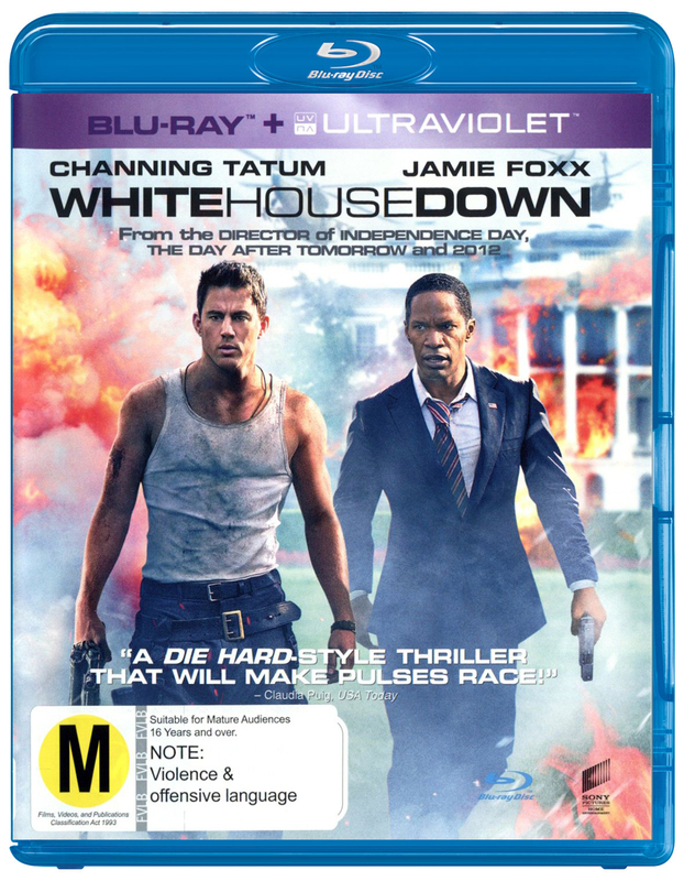 White House Down on Blu-ray, UV