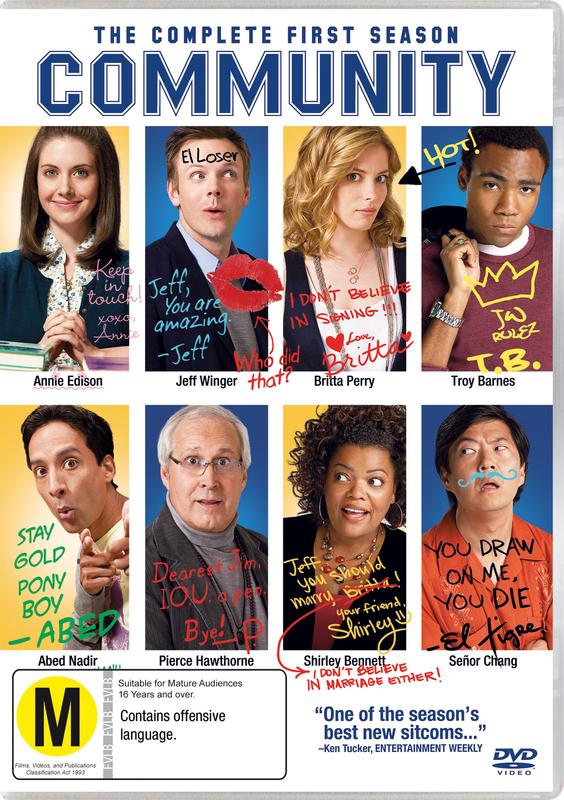 Community - The Complete 1st Season on DVD