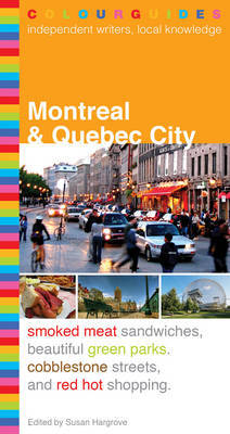 Montreal and Quebec City Colourguide by Melanie Grondin