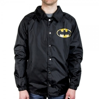 DC Comics - Batman Logo Coach Jacket (Large)
