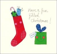 Papaya: Christmas Cards - Fun Filled Christmas (8pk)