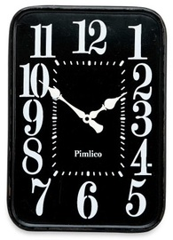 Decor Living: Black Iron Clock image