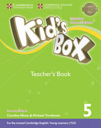 Kid's Box Level 5 Teacher's Book American English by Lucy Frino image