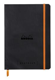 Rhodiarama A5 Goalbook Dot Grid - Noir image