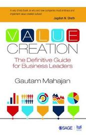 Value Creation by Gautam Mahajan