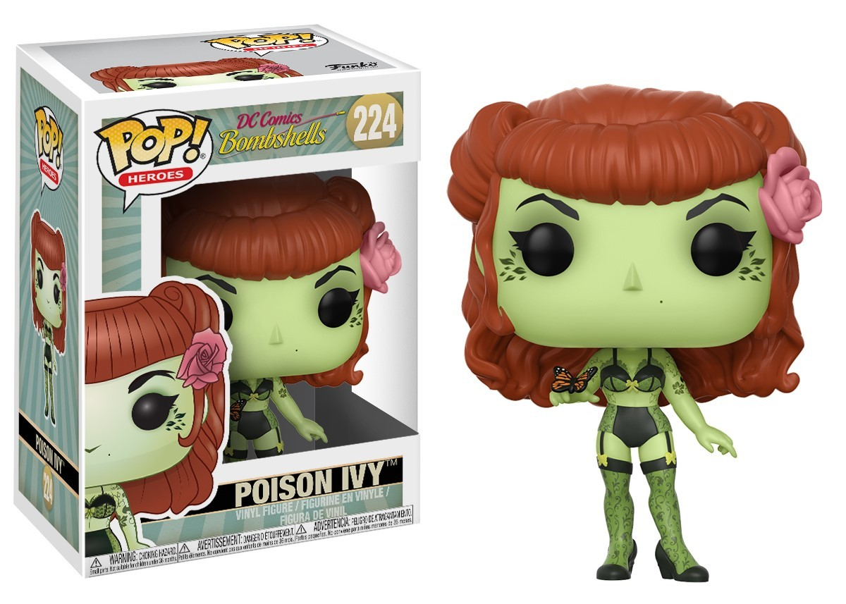 DC Bombshells - Poison Ivy Pop! Vinyl Figure image