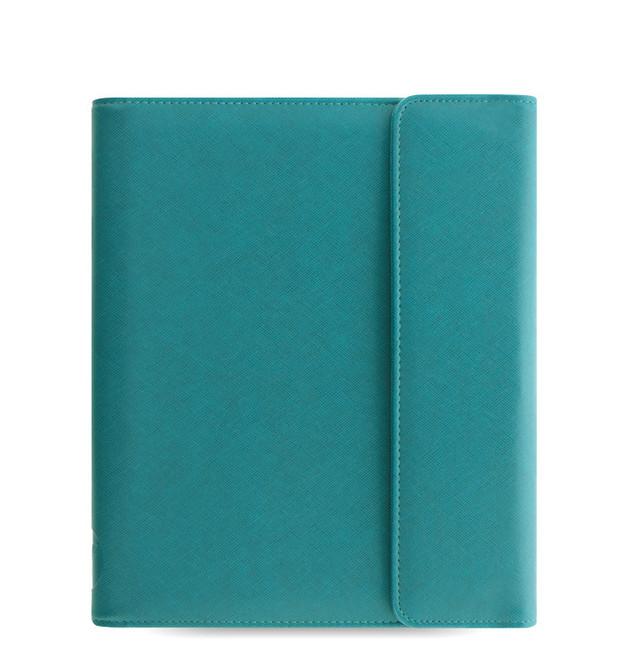 Filofax: Saffiano Wrap Large Tablet Case - Aqua