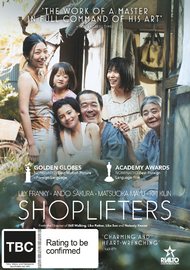 Shoplifters on DVD