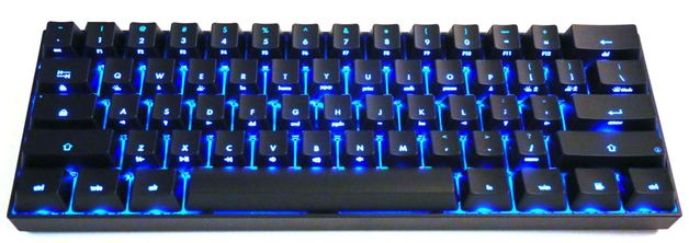 KBParadise V60 Plus Dual Backlit MX Silent Red 60% Mechanical Keyboard