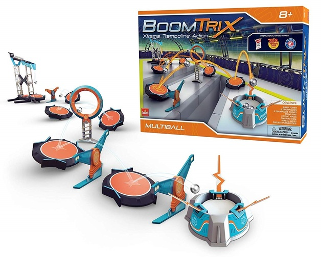 Boomtrix: Kinetic Reaction Stunt Kit - Multiball Set