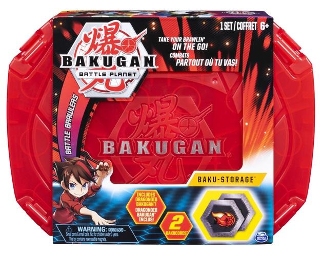 Bakugan: Baku-Storage Case - (Red)
