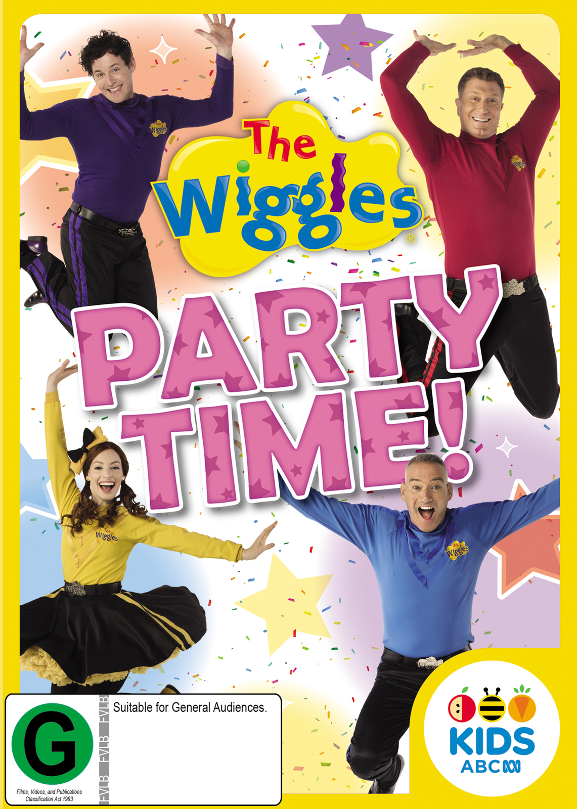 The Wiggles: Party Time! on DVD image