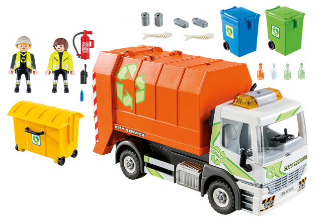 Playmobil: City Life - Recycling Truck (70200)