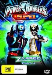 Power Rangers SPD - Vol. 5: Zapped on DVD