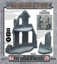 Battlefield in a Box- Hall Of Heroes: The Broken Facade