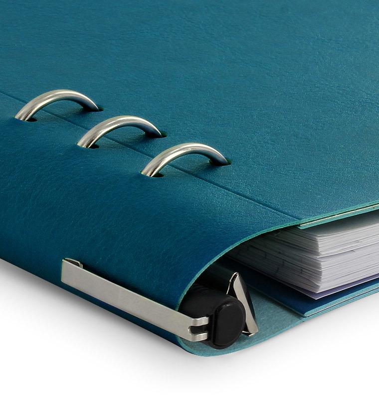 Filofax - A5 Clipbook - Petrol Blue image