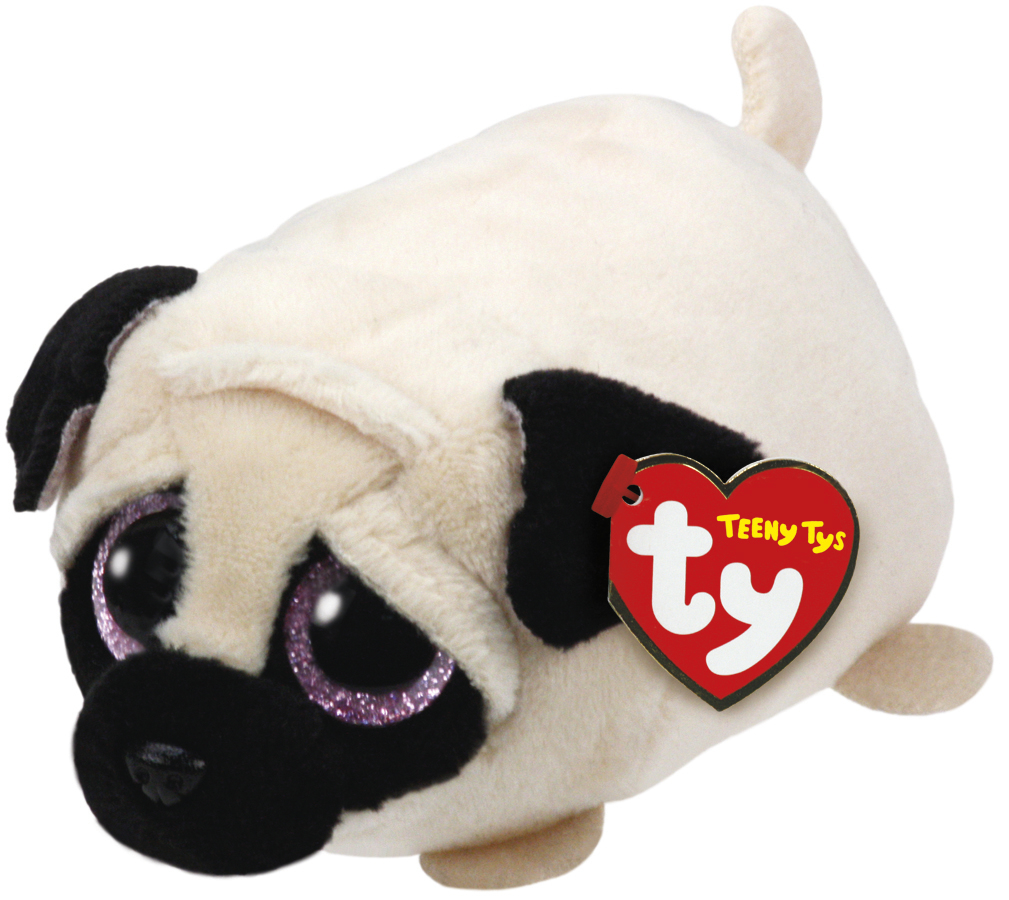 Ty Teeny - Candy Pug Plush image