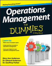Operations Management for Dummies by Mary Ann Anderson