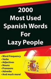 2000 Most Used Spanish Words for Lazy People by Javier Fernandez image