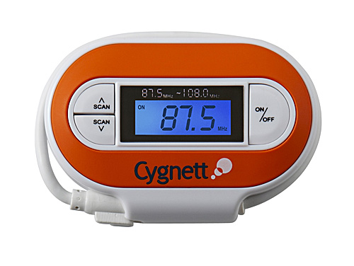 Cygnett GROOVE RIDE - TRANSMITTER POD WITH L-ION BATT + LCD image